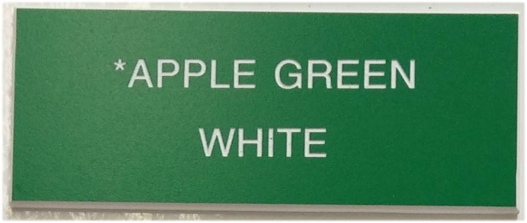 apple_green_and_white_letters