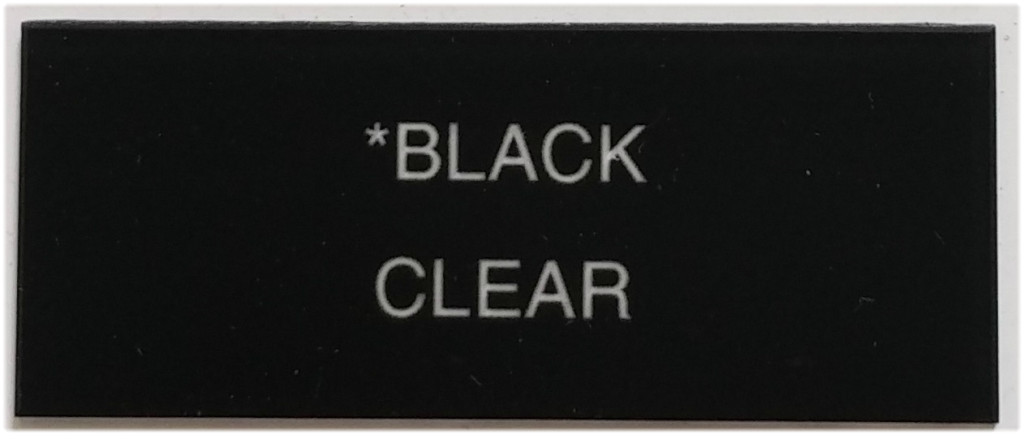 black_and_clear_letters